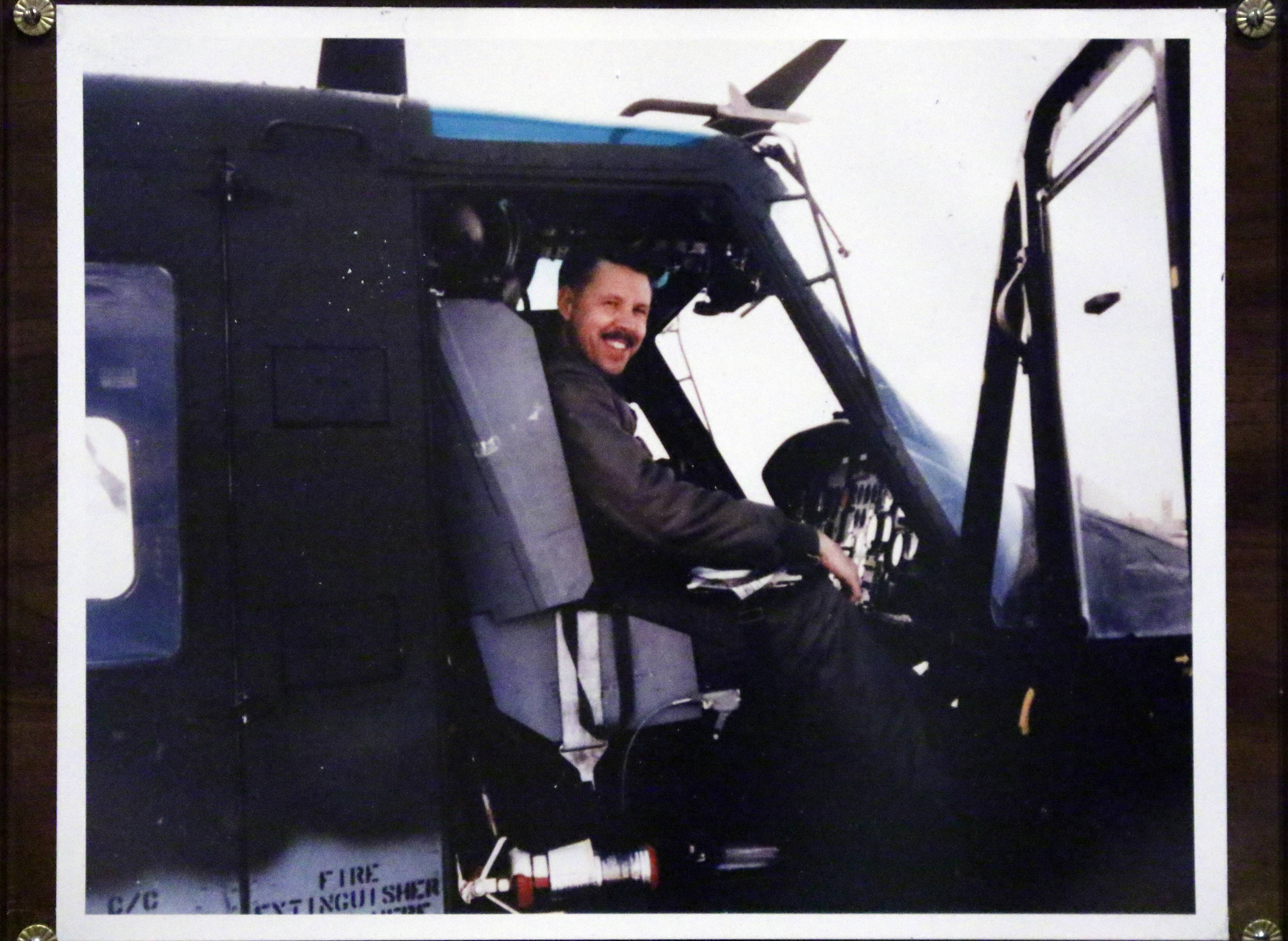 "Calling his pilot position in this CH-46 Sea Knight helicopter a ""front-row seat"" to the Vietnam War, Harold Walker did more than fly in and out of combat zones. He took notes. A half-century later, the Geneva man has made them into a book."