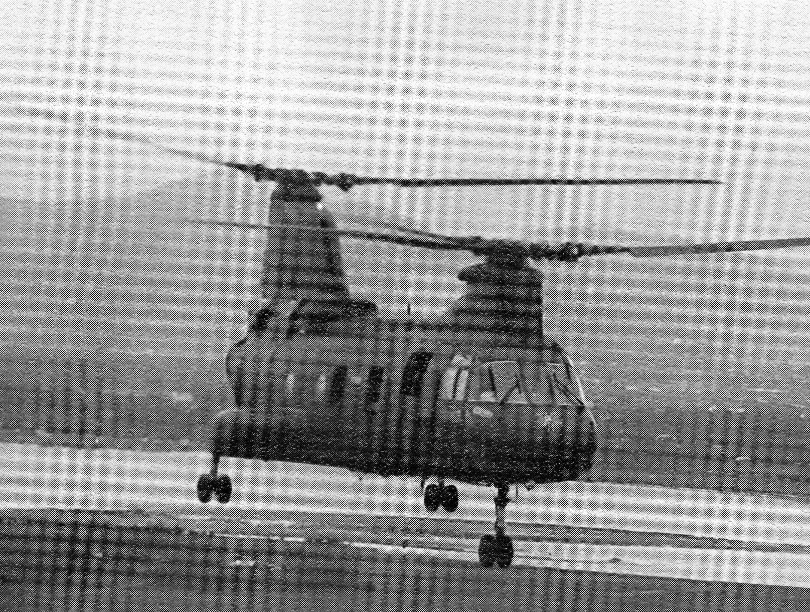 A workhorse during the Vietnam War, this CH-46 Sea Knight helicopter was piloted by Harold Walker, who took notes during his year in Vietnam. Now, the 72-year-old Geneva veteran has turned those notes into a book.