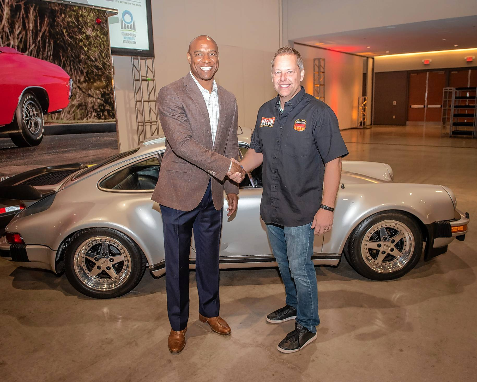 Walter Payton S Porsche To Be Auctioned In Schaumburg