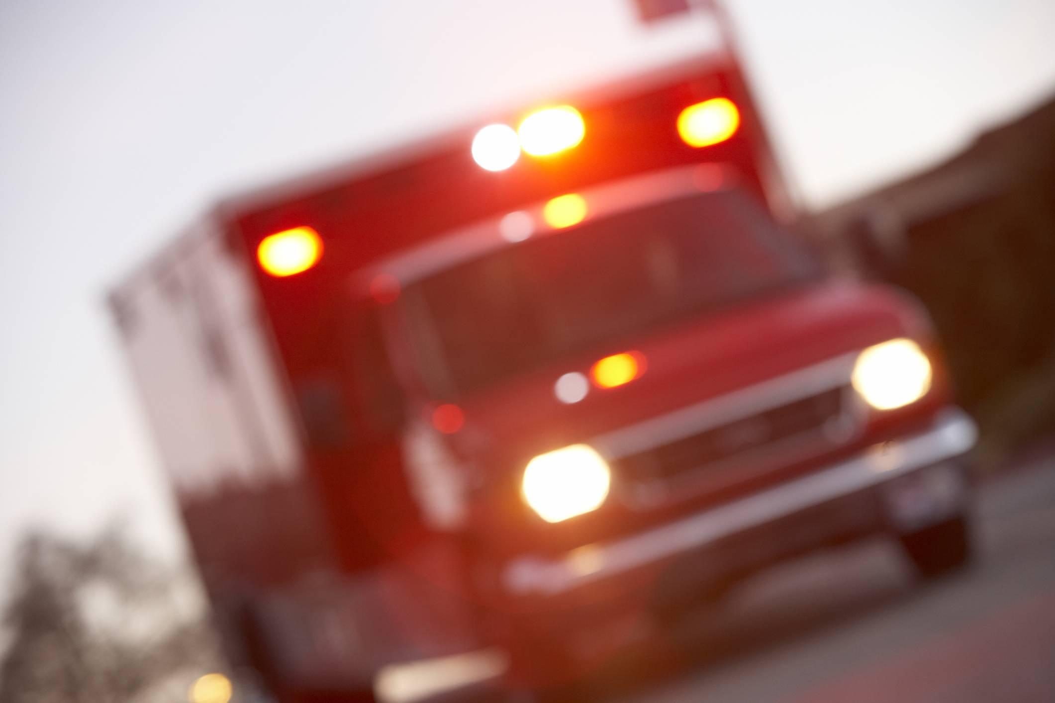 Boy injured in four-vehicle pileup on I-88