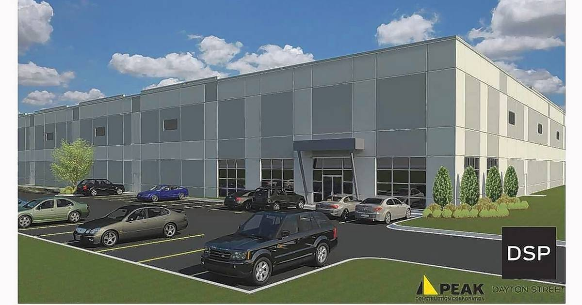 Construction begins on two speculative buildings