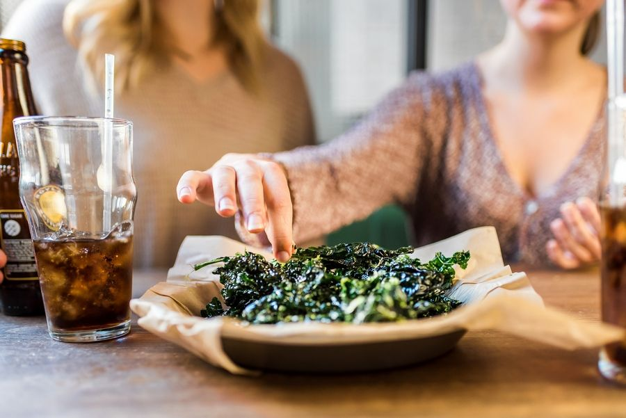 Next Door American Eatery -- coming to Mellody Farm in Vernon Hills -- is known for kale chips.