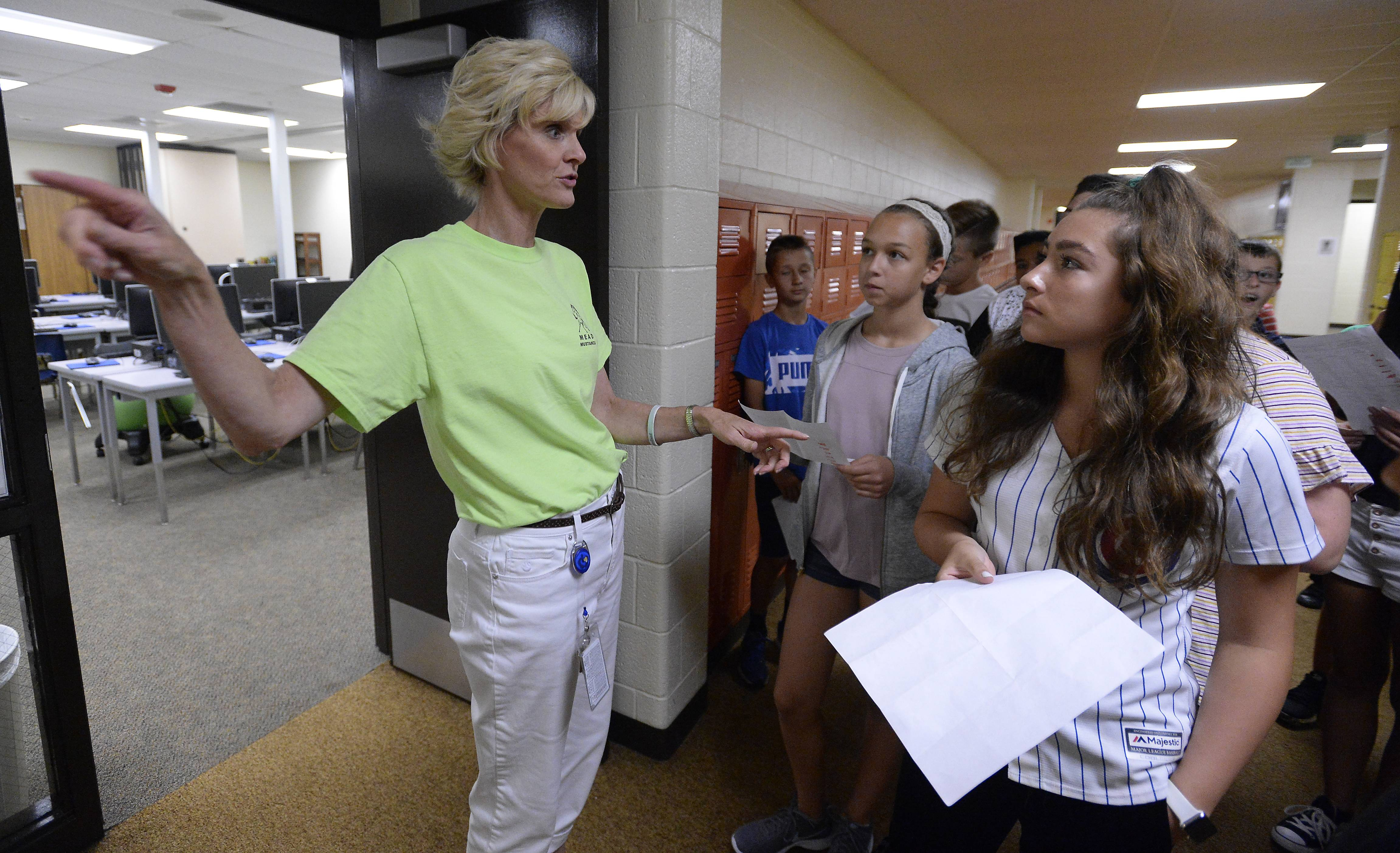 students see changes at district 54 schools as classes resume