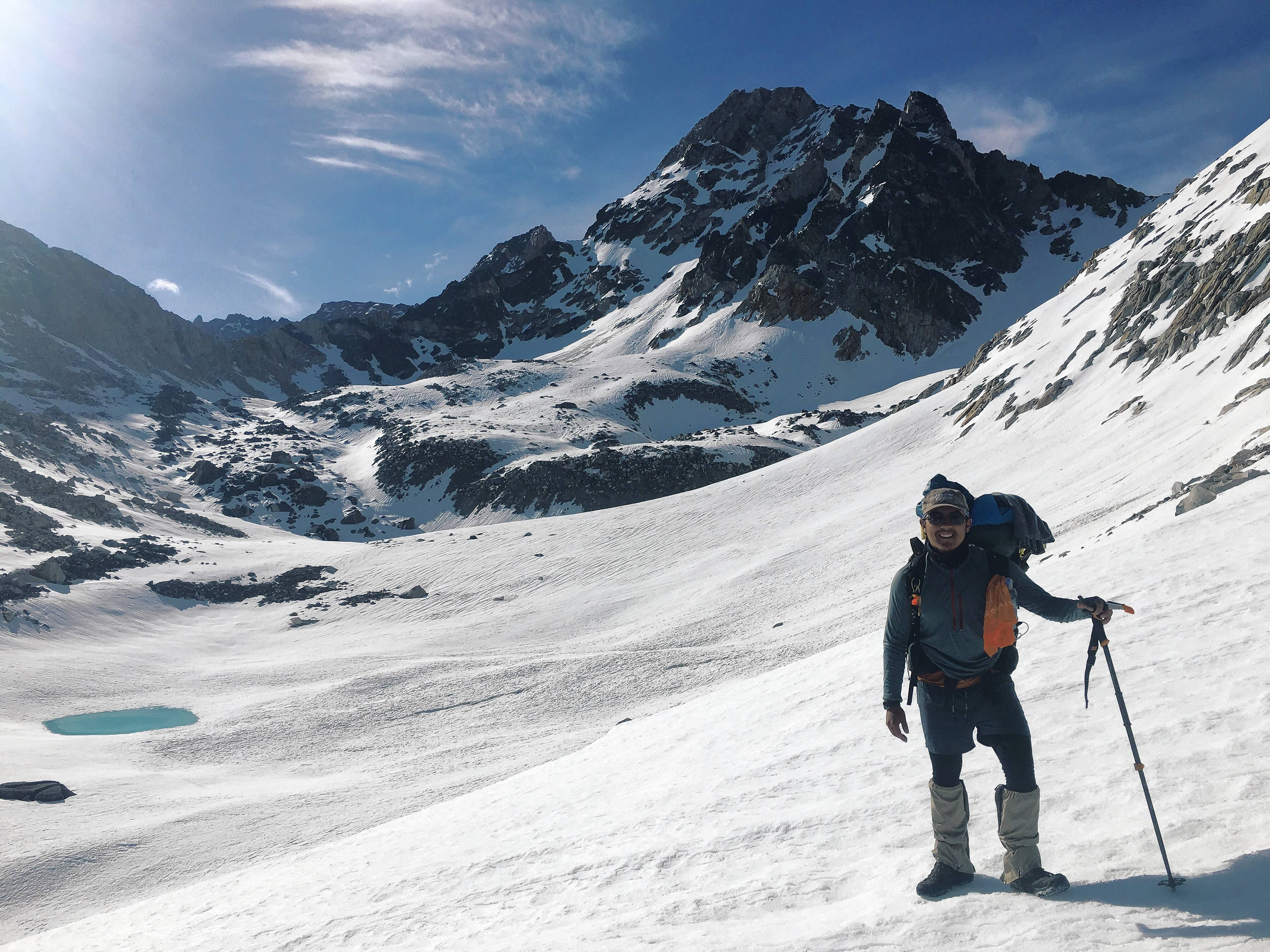 Eric Montgomery, who grew up in Lisle, embarked on a four-month hike of the Pacific Crest Trail this spring and summer.