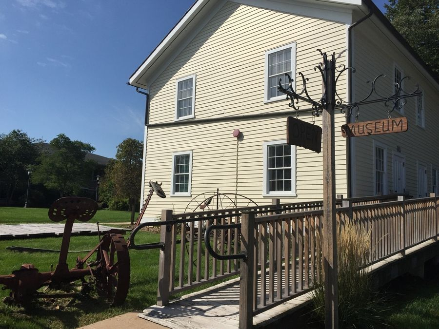 "Learn about the Beaubien Tavern at The Museums at Lisle Station Park during the ""Harvesting History"" special event on Saturday, Aug. 25."