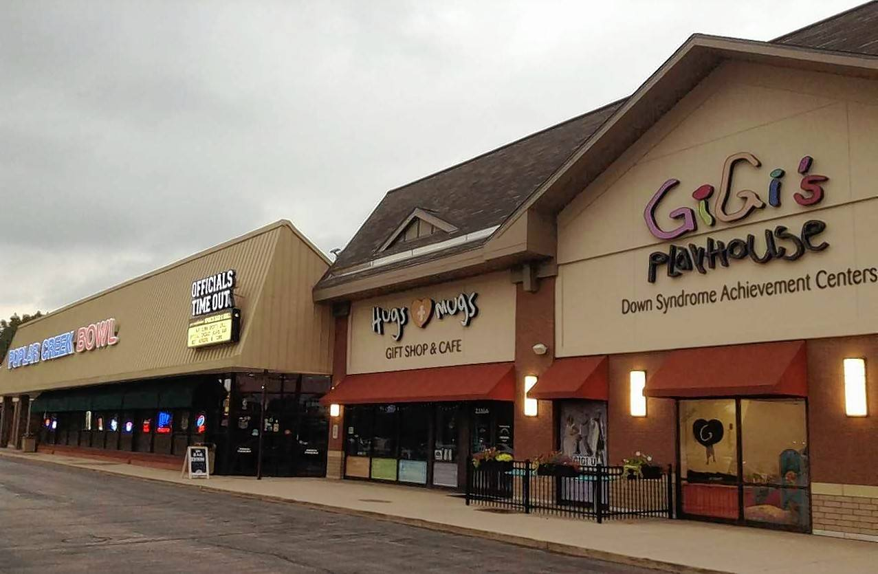 GiGi's Playhouse and Poplar Creek Bowl — adjacent businesses in Hoffman Estates' Barrington Square Town Center on Higgins Road — will both expand their services soon. GiGi's is expanding its gym while the bowling alley is adding a banquet facility.