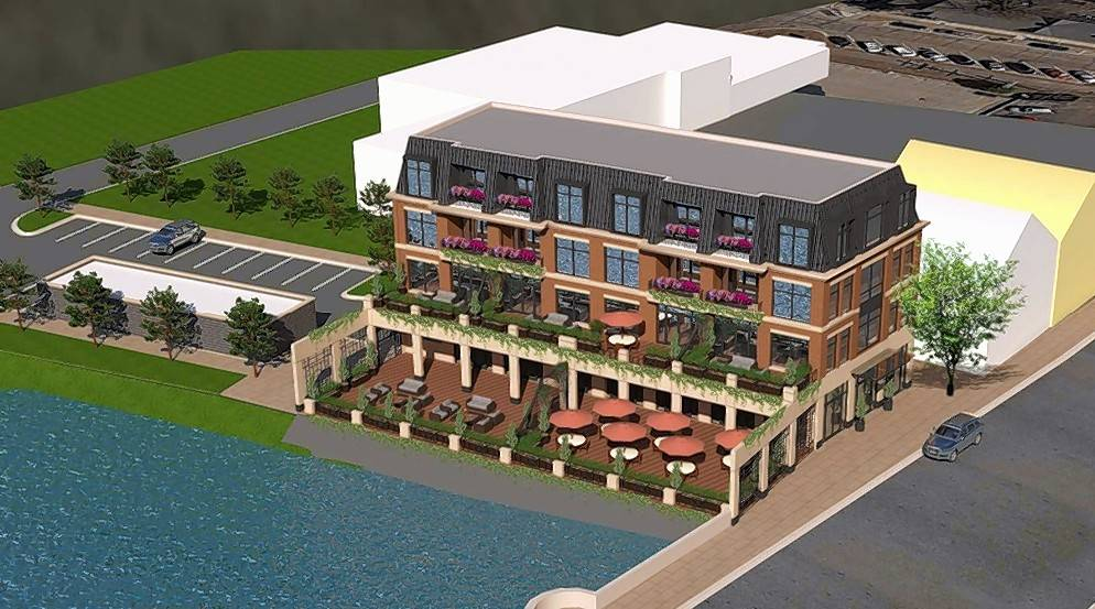 A proposal to build a four-story development and attached patio along the Fox River has been met with resistance by several downtown East Dundee stakeholders.