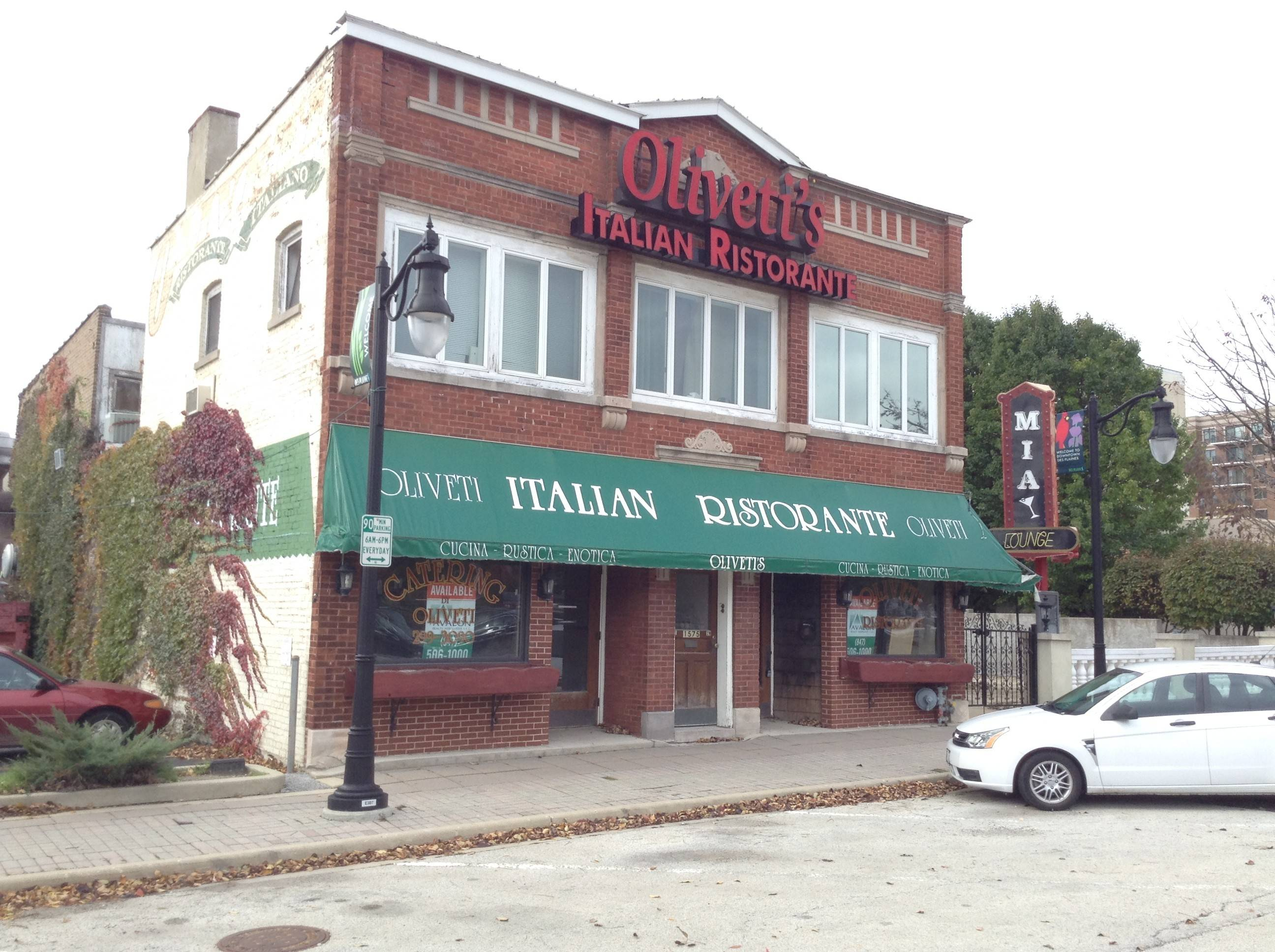 Firewater Saloon is opening a third Chicago-area location at the former Olivetti's Italian restaurant on Ellinwood Street in downtown Des Plaines.