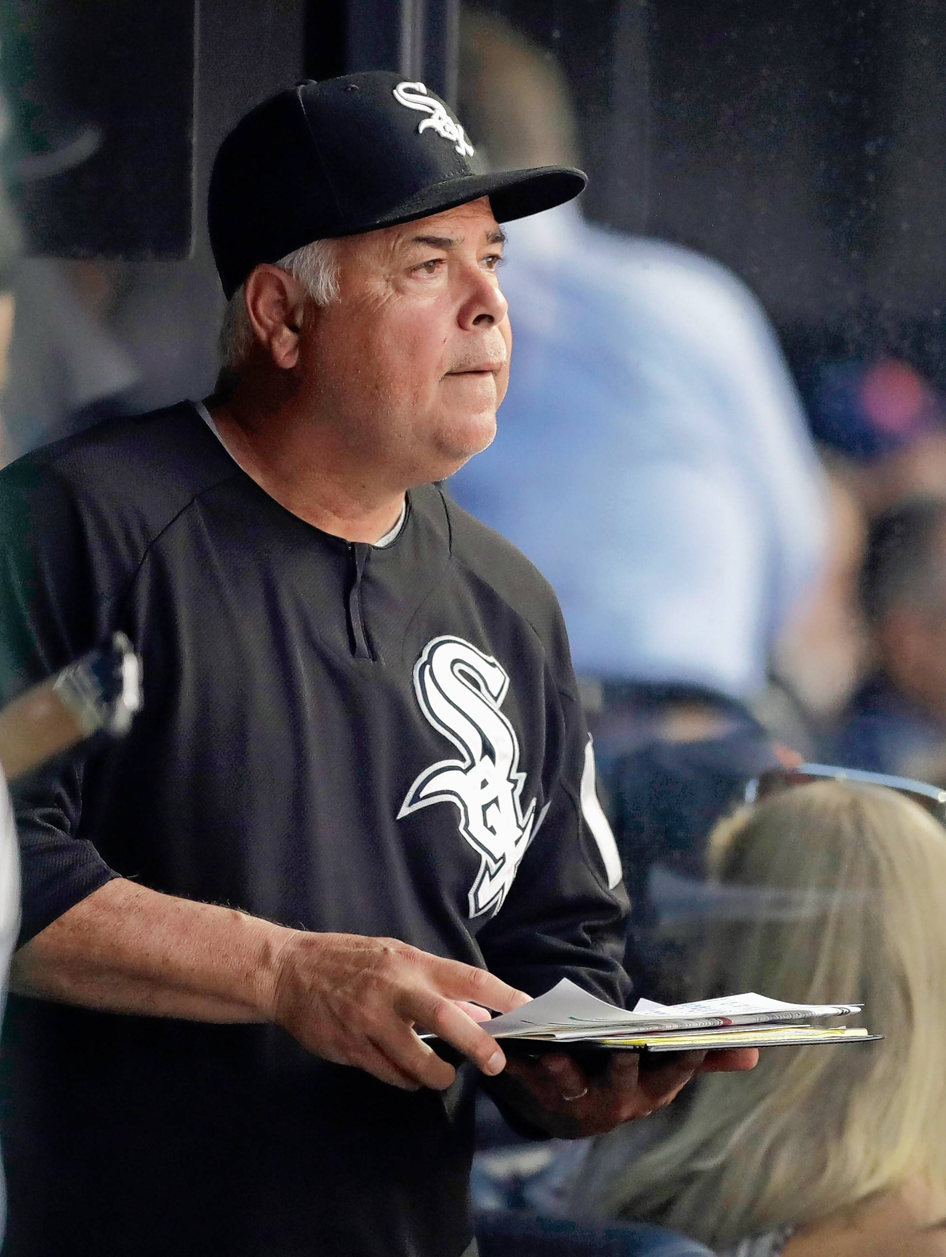 White Sox manager Rick Renteria will not be at the ballpark for Tuesday's game after being released from a Minneapolis hospital.
