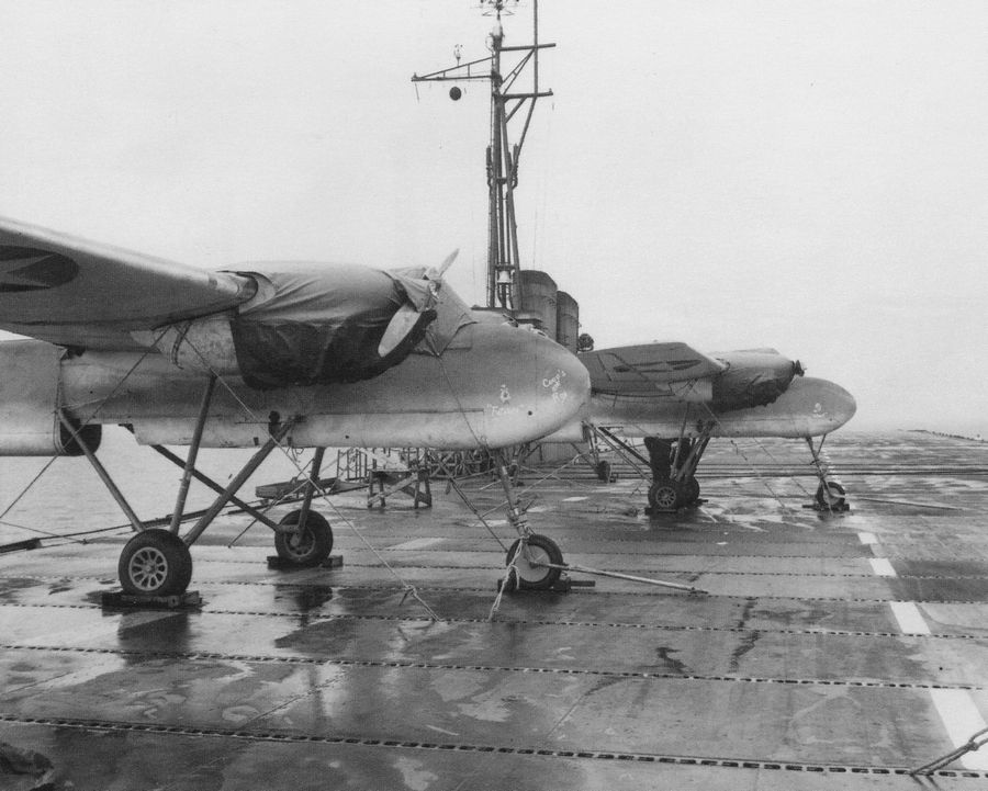 Converting passenger steam ships into makeshift aircraft carriers, the Navy during World War II trained 17,820 pilots at an auxiliary airfield near what is now Vernon Hills High School.