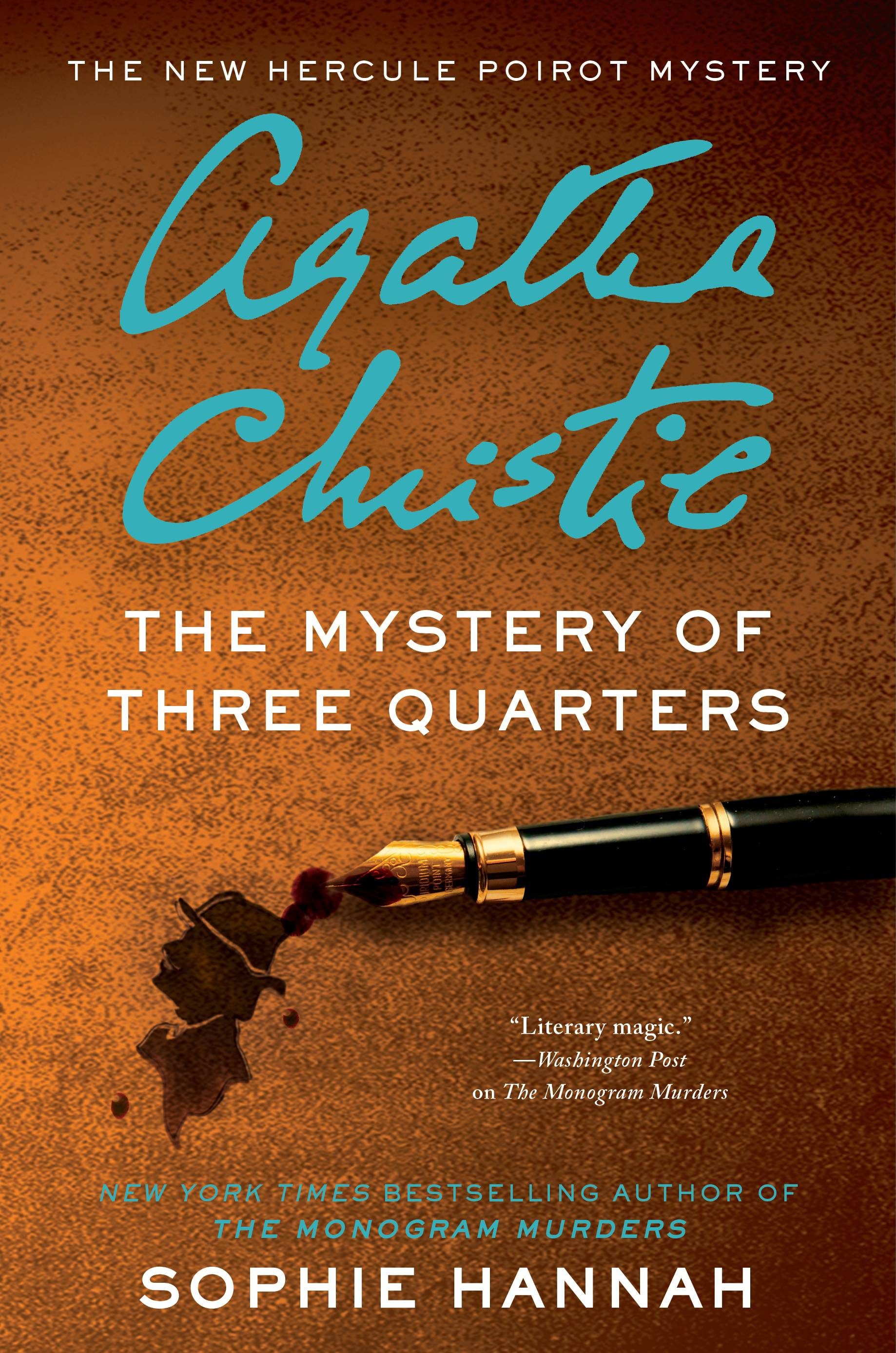"""The Mystery of Three Quarters,"" a Hercule Poirot novel by Sophie Hannah"