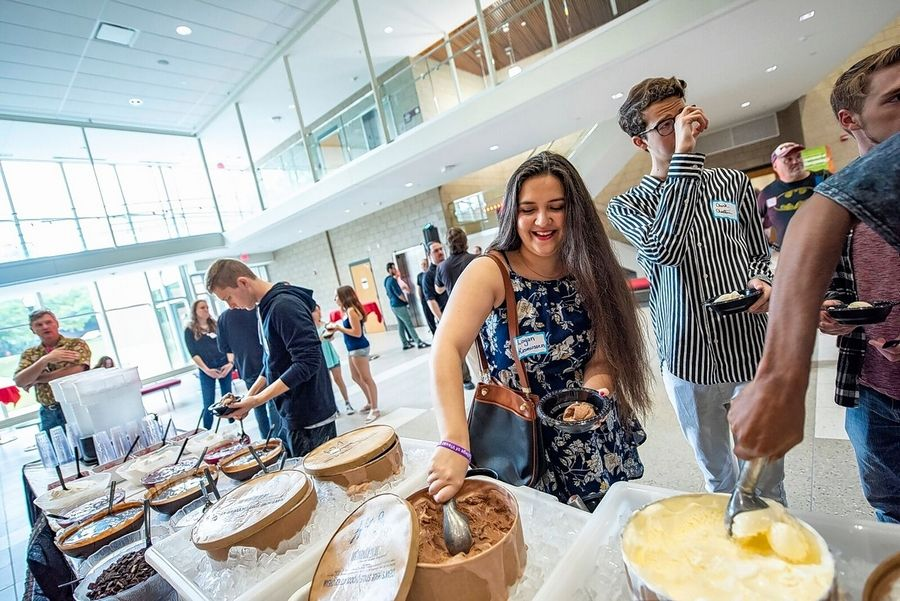Northern Illinois University unveiled its renovated Stevens Building on Saturday, just in time for the start of the fall semester Monday.
