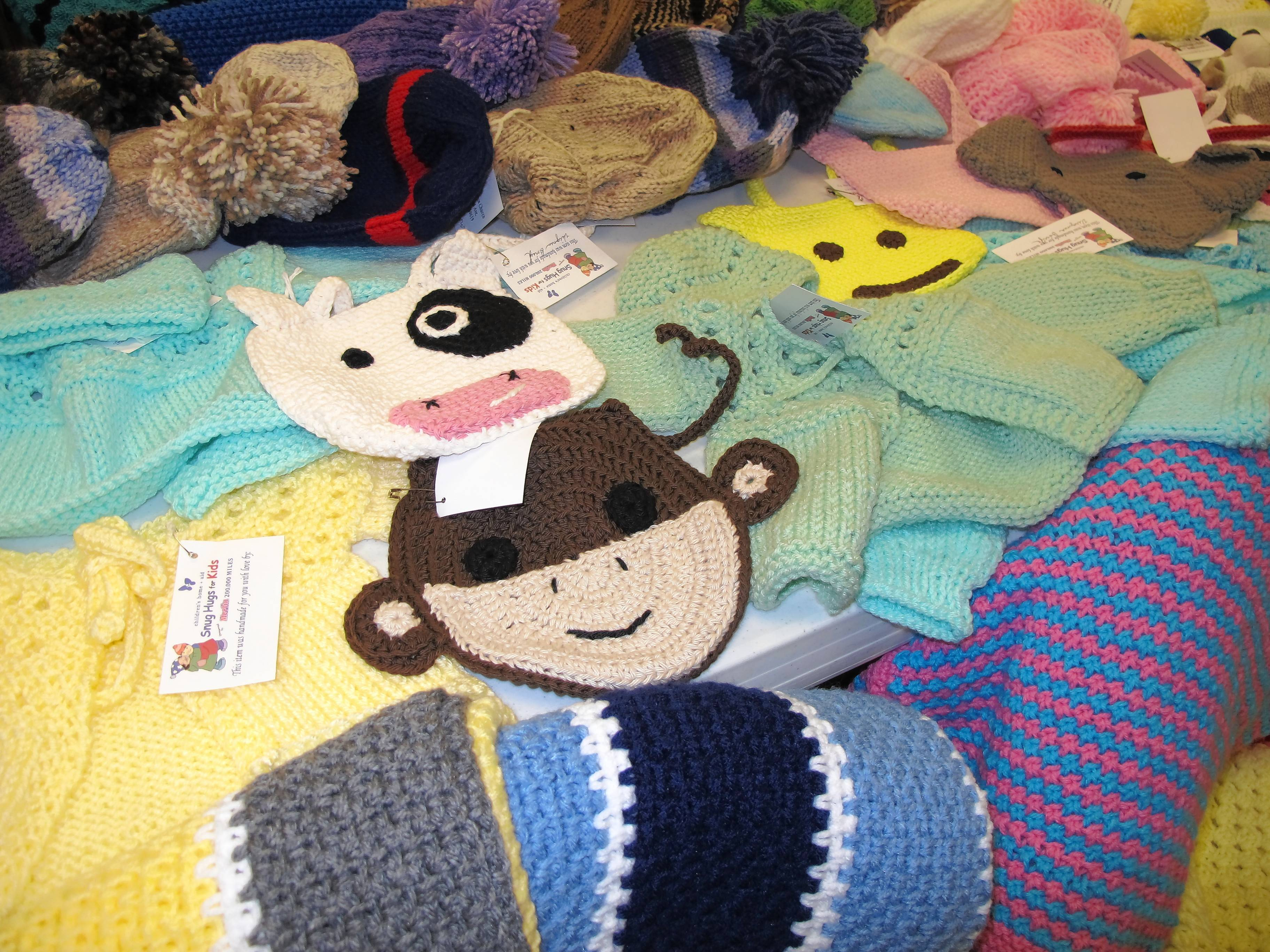 Merlin 200,000 Shops is hosting a Crochet & Knit-A-Thon through Dec. 12, to benefit Snug Hugs for Kids, which provides warm winter clothing for children served in Illinois by Children's Home & Aid. Persons of all ages who knit or crochet are invited to participate.