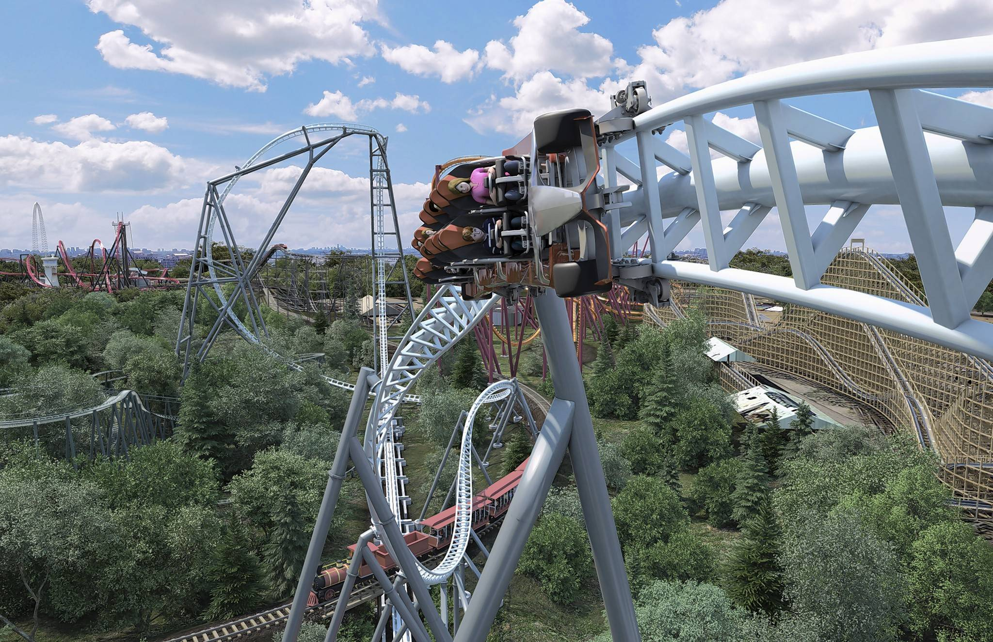 Six Flags Great America Adding Maxx Force To Roller Coaster Roster