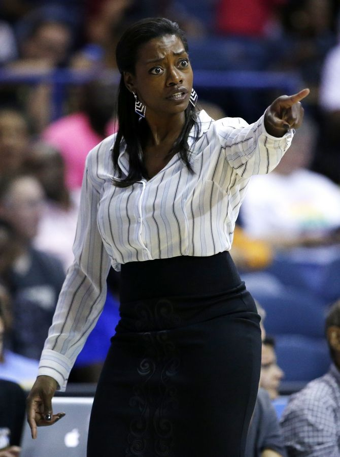 Chicago Sky head coach Amber Stocks is out after two seasons.