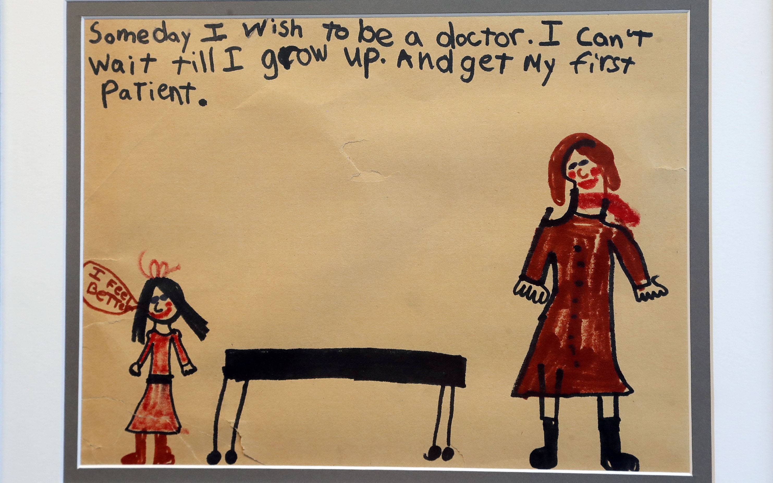 "Few women were physicians when Tara Troy was born, but the former Inverness resident made good on this childhood drawing of her becoming a doctor. A gastroenterologist, Troy says the connection between ""mind and gut"" is so strong that her office has a dietitian and a therapist."