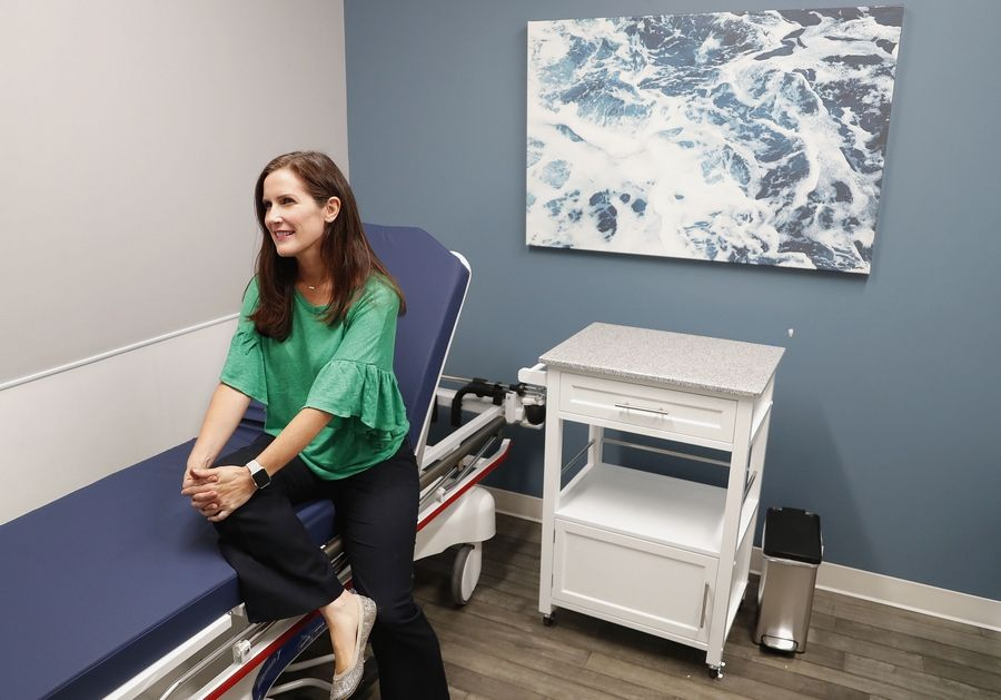 "Opening a new medical practice that works with diet and behavior as well traditional gastroenterologist service, Dr. Tara Troy says her office will have ""an intimate feel."""