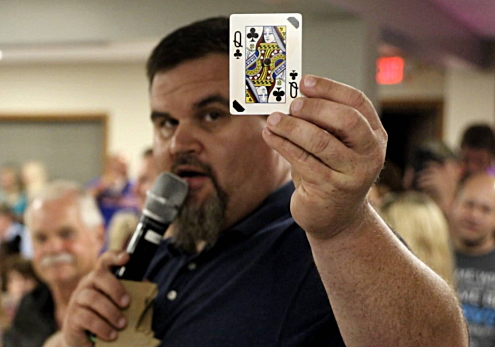 Queen of ... clubs (not hearts) drawn at McHenry VFW for $277,000 prize