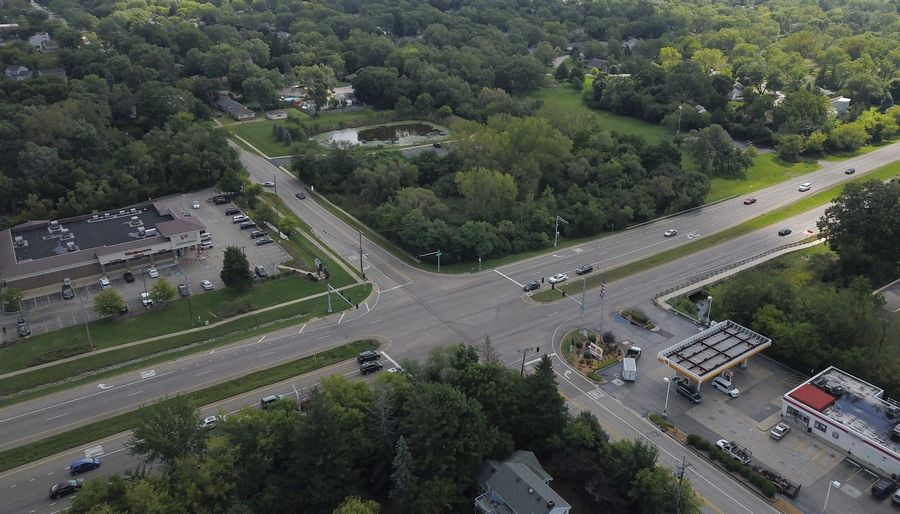 A plan to build a Thornton's gas station on the southeast corner of the intersection of Miller and Rand Roads in Lake Zurich is off. There is already another gas station and convenience store at the intersection.