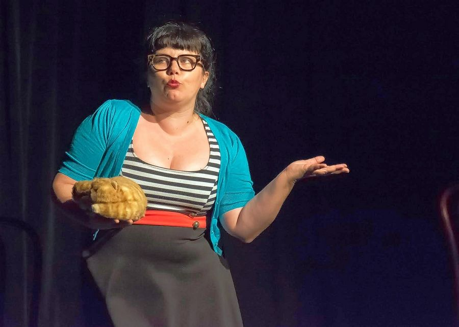 Kelly Bolton returns with her quirky characters to the Elgin Fringe Festival.