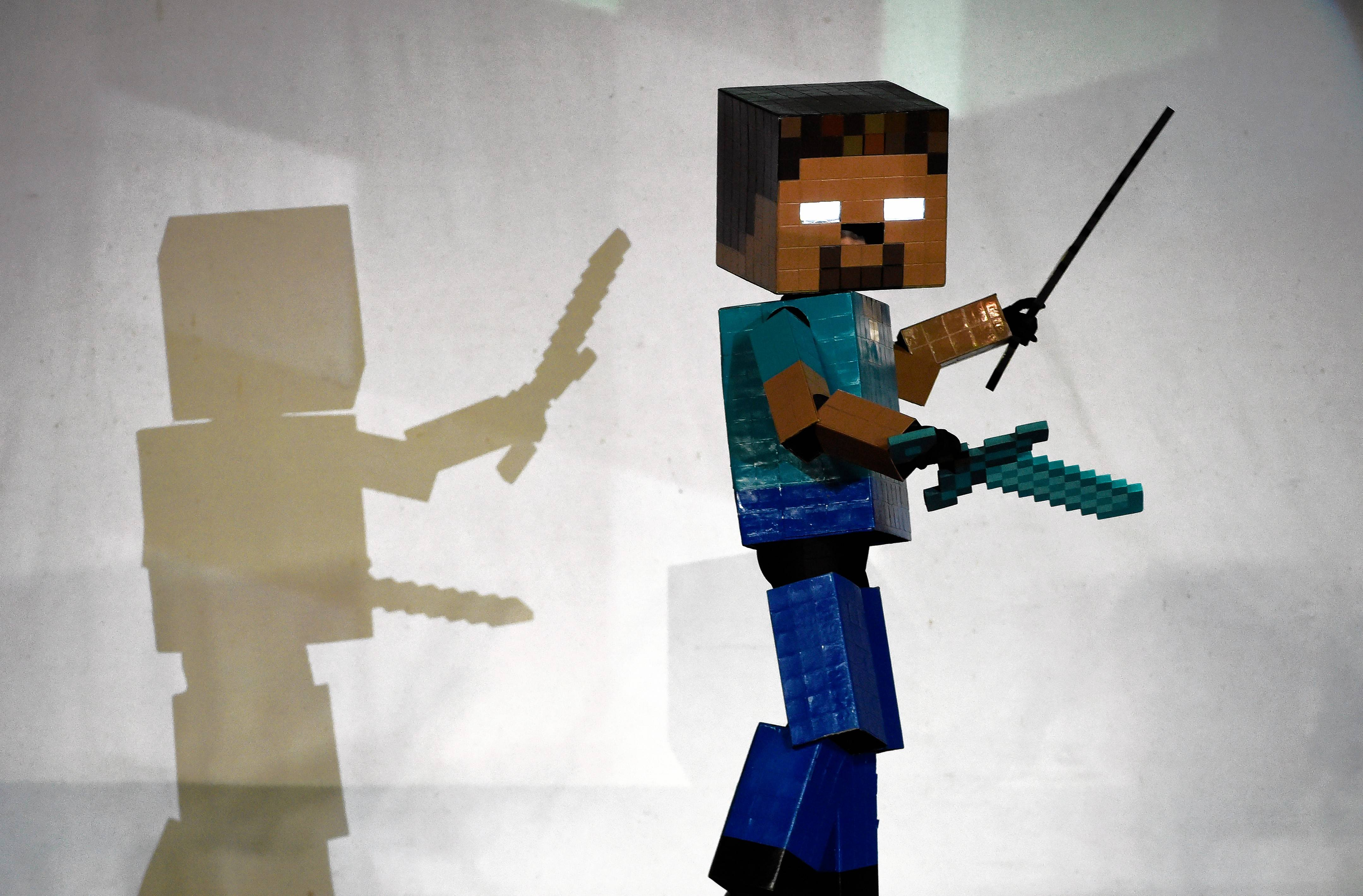 Expect fans to dress up in pixilated costumes for Minefare: The Ultimate Minecraft Experience at the Renaissance Schaumburg Convention Center this weekend.
