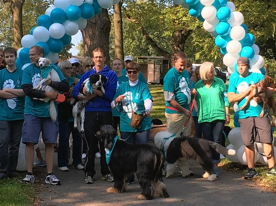 The Ovarian Cancer Symptom Awareness Organization's 5K Dog Walk and Fun Run is set for Sunday, Sept. 9, at LeRoy Oakes Forest Preserve in St. Charles.