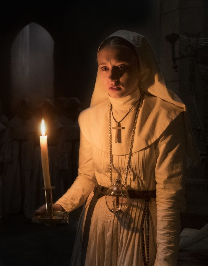 Movie review: 'The Nun' shrouds itself in comfortably