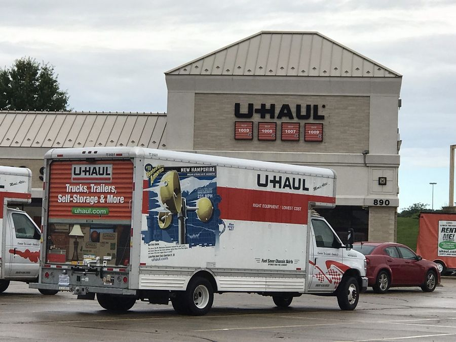 U-Haul has proposed reconfiguring the three buildings it owns in the Spring Hill Gateway to expand its storage and parking space in West Dundee.