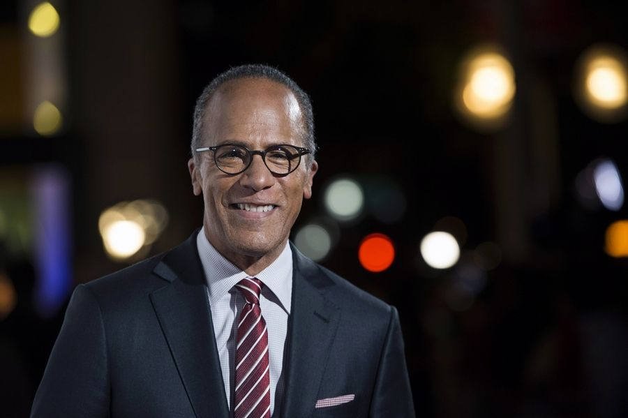 NBC Nightly News anchor Lester Holt