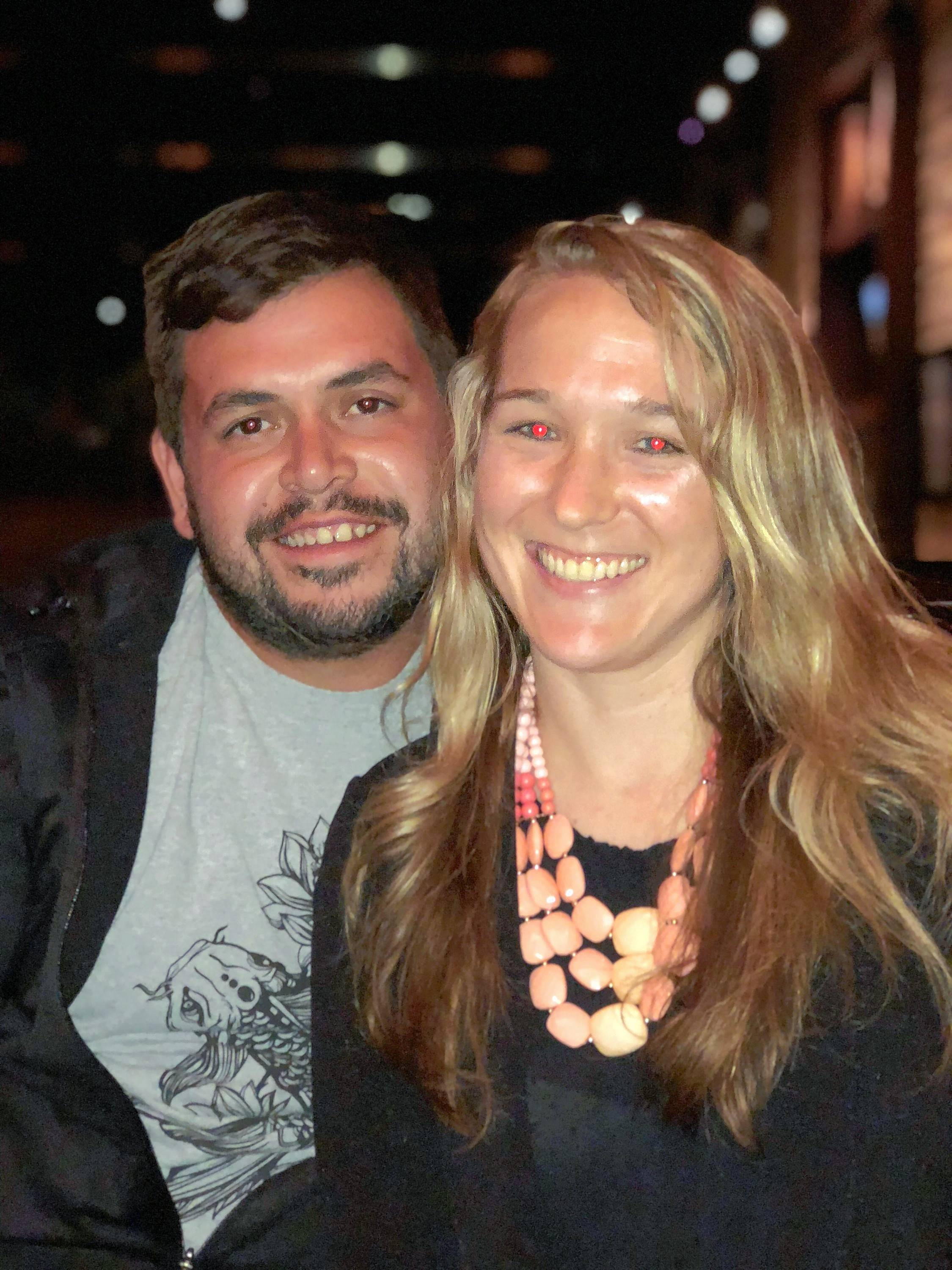 Algonquin residents and Barrington High School graduates Tony Rios and Danni Shanahan will be getting married Saturday, Sept. 15. After the ceremony, the couple and their wedding party will take pictures outside Barrington High, where Rios and Shanahan met in 2006.