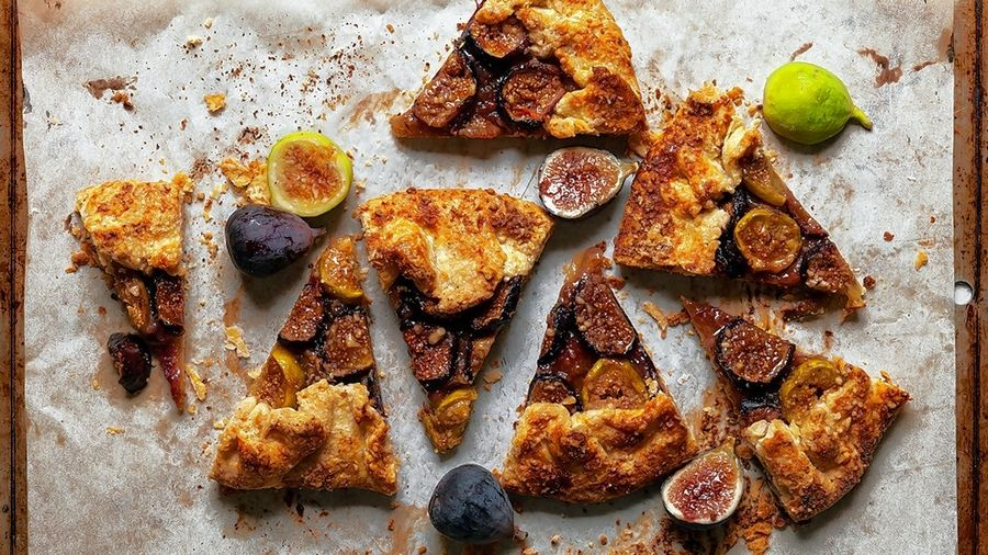 Good luck resisting this Honeyed Fig and Walnut Galette.