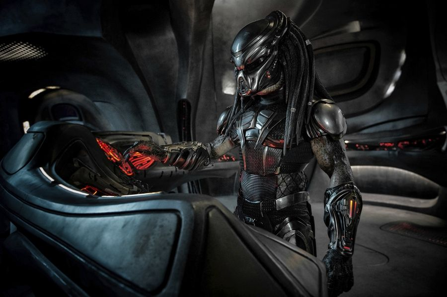 "An alien hunter tries to take over the Earth. Or is trying to save it in ""The Predator""?"