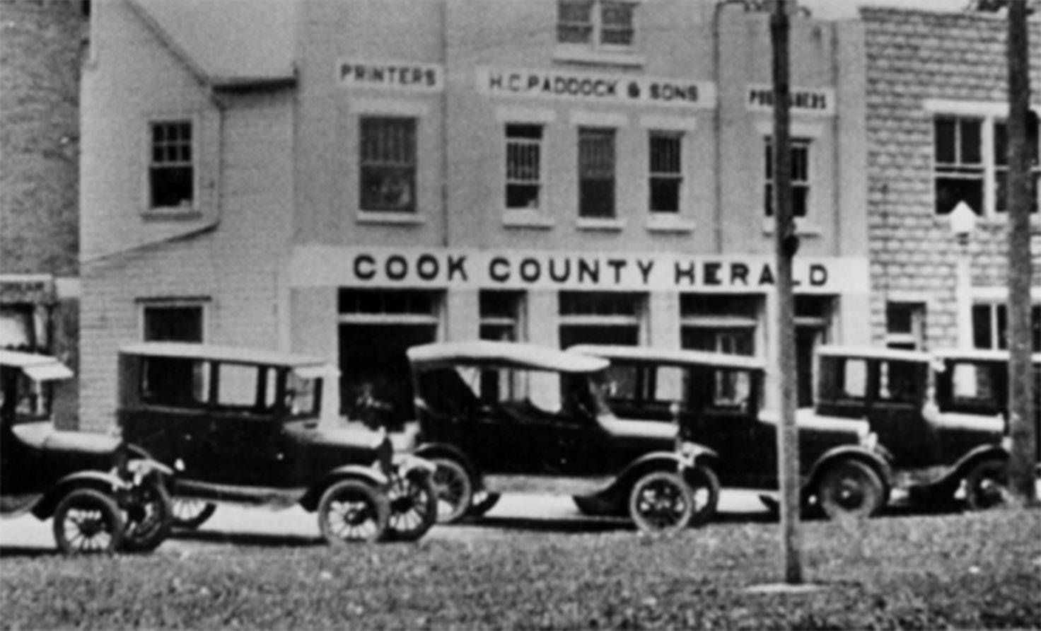 Paddock family ownership of the suburban Daily Herald and its predecessor newspapers dates back four generations to Dec. 15, 1898.