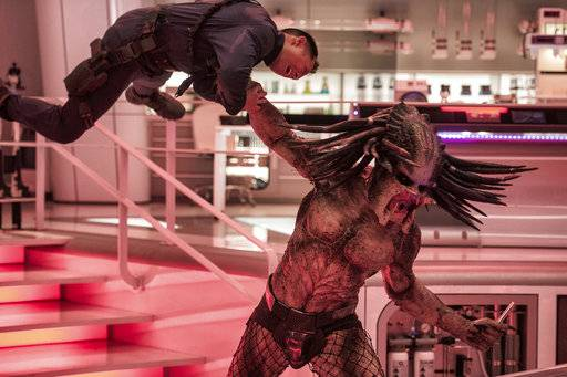 """The Predator"" topped the box office this weekend."