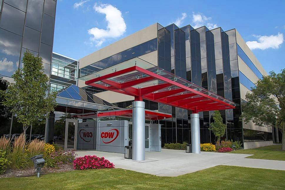 Courtesy of CDW Tom Richards, CEO of CDW, will retire and be replaced by Christine Leahy. The company has its executive offices in Lincolnshire.