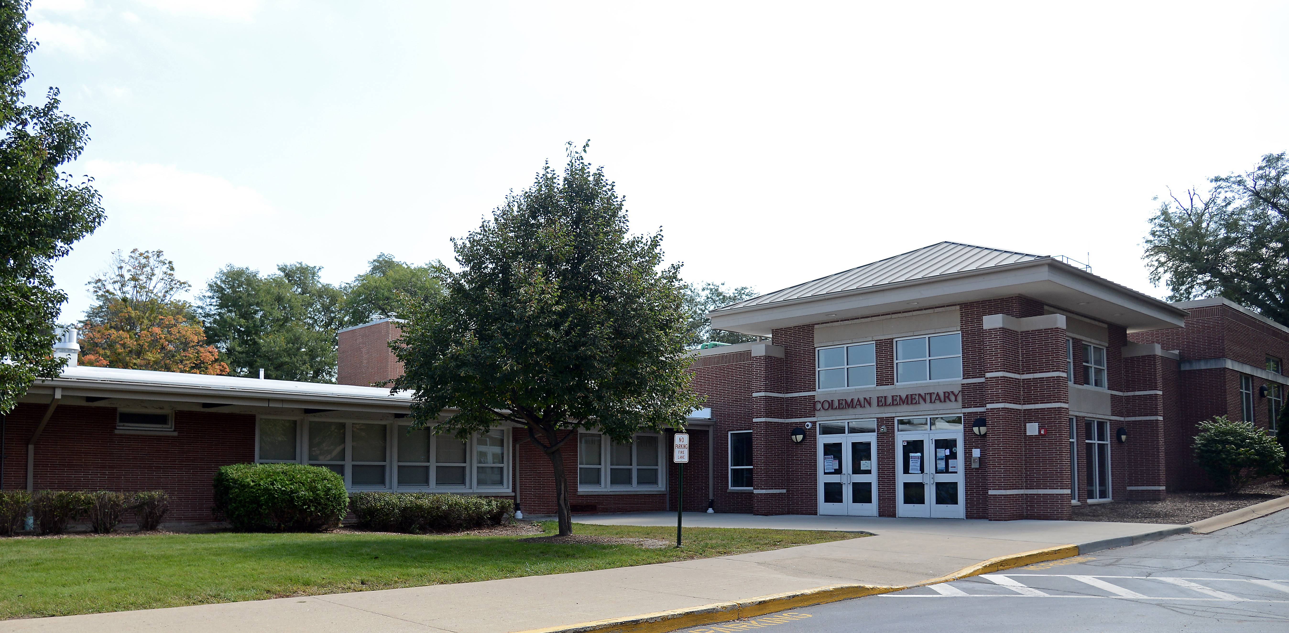 Coleman Elementary School in Elgin, which closed Thursday due to mold, will reopen Wednesday.
