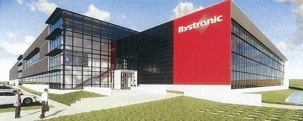 A rendering of Bystronic Inc.'s planned 163,000-square-foot North American headquarters, approved for an 11-acre site at 2200 W. Central Road in Hoffman Estates.
