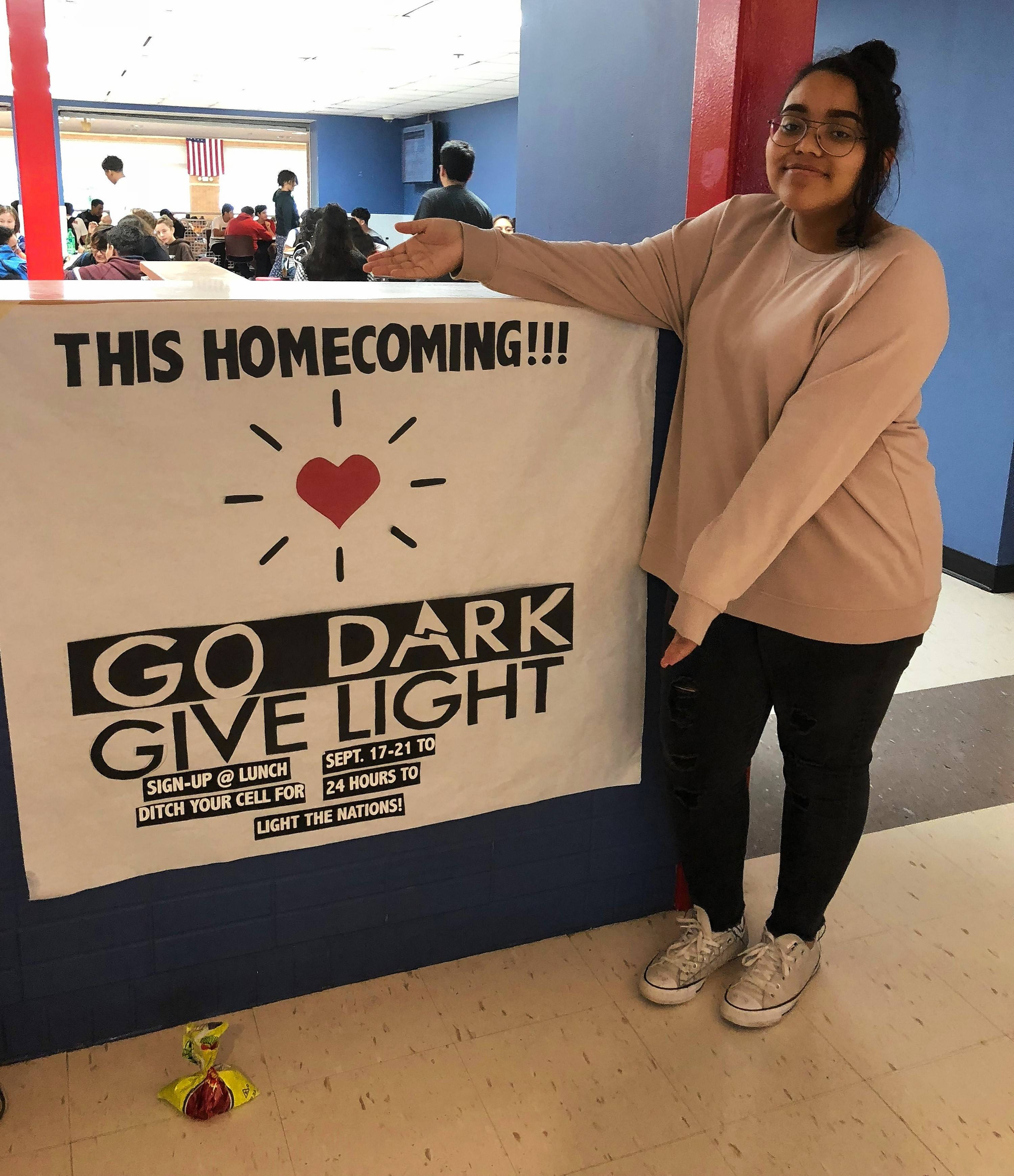 For 24 hours during Homecoming, West Aurora High School students plan to turn off their phones. They are raising funds and awareness for the nonprofit organization called Watts of Love based in Downers Grove.