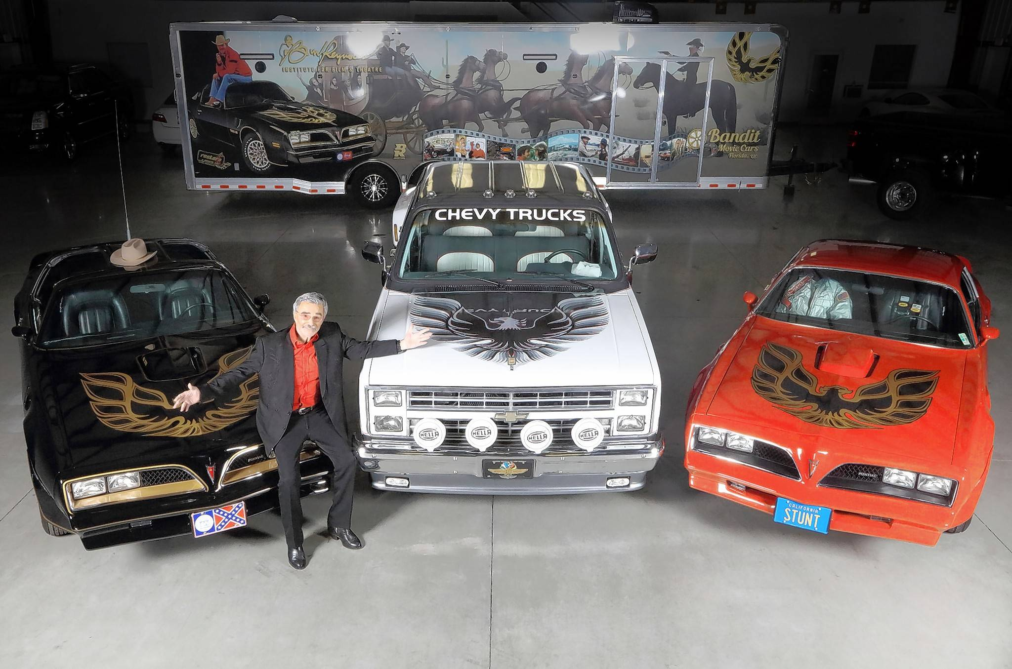 "A 1978 Pontiac Firebird Trans Am ""Smokey and the Bandit"" re-creation and several other vehicles owned by the late actor Burt Reynolds will be sold at auction next weekend."