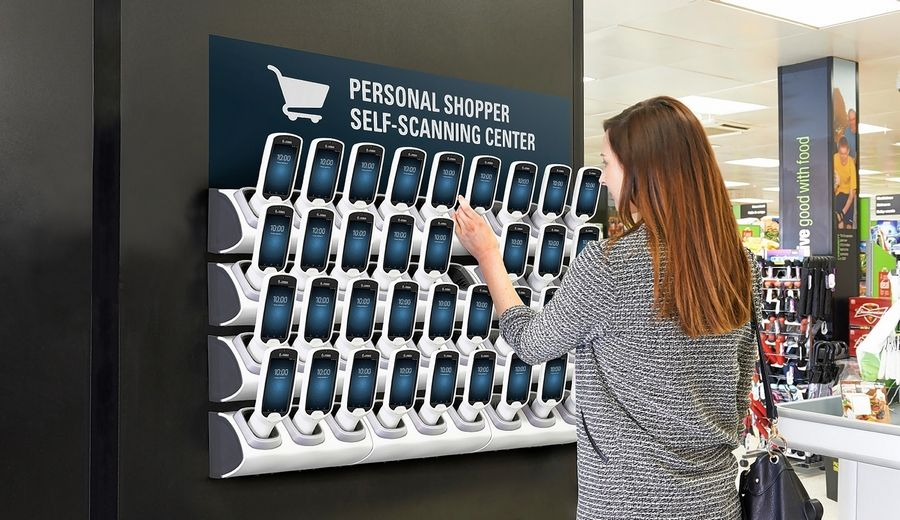 Zebra's PS20, its sixth generation personal shopping solution, allows shoppers to scan items as they go, streamlining the checkout experience.