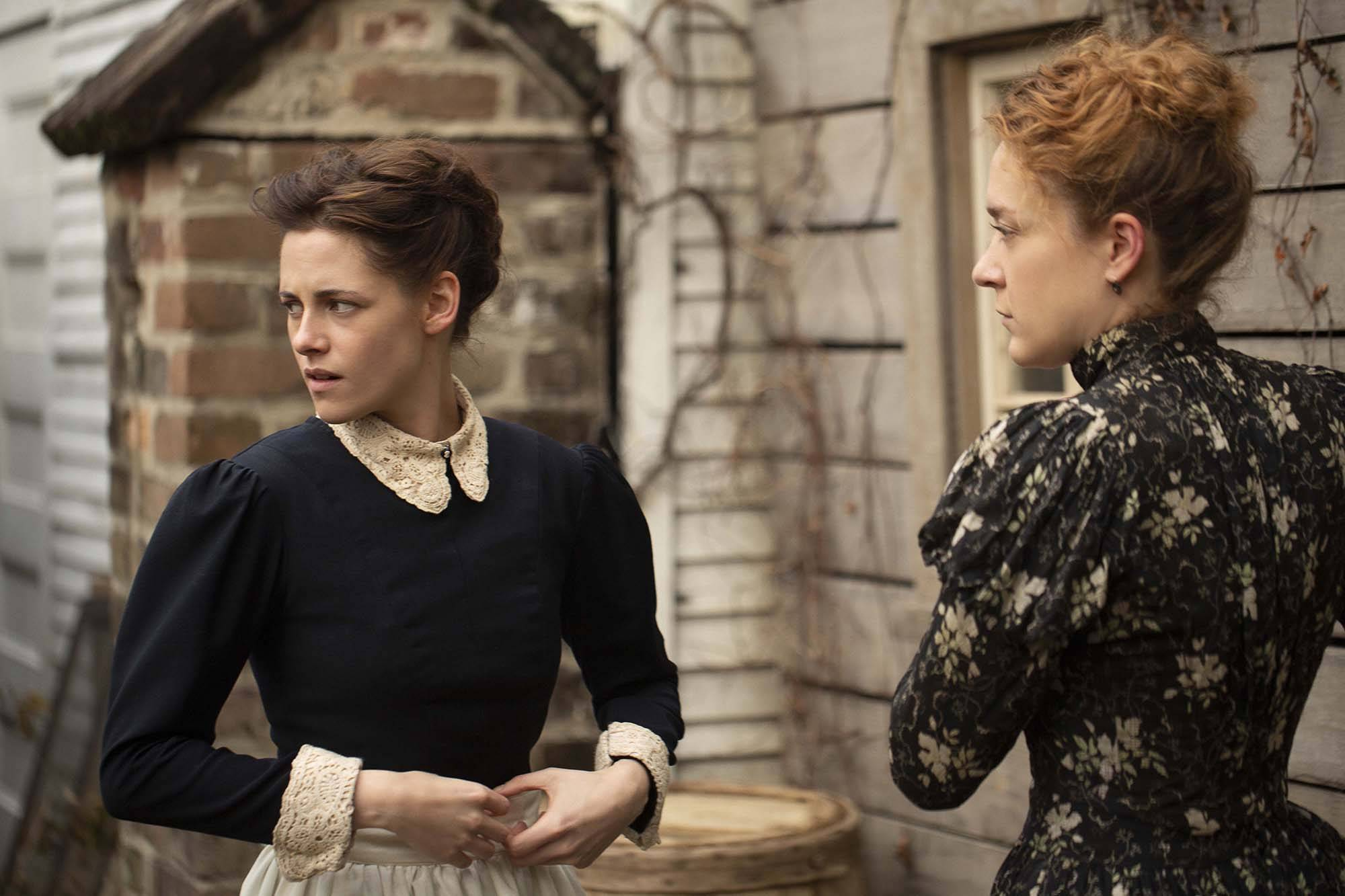 """Lizzie"" posits that the maid Bridget (Kristen Stewart), left, and Lizzie Borden (Chloë Sevigny) were involved in a relationship that dismayed Lizzie's father. Could this have led to the infamous 1892 Borden murders?"