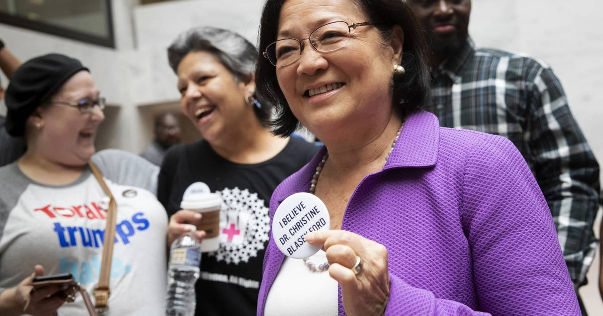 Call for men to  step up  puts Hawaii senator in the spotlight 150bd89e2945