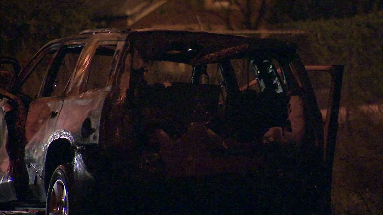Nearly two years after Barrington Hills resident James Gerage was found beaten to death in this torched vehicle in Chicago's Pilsen neighborhood, his killing remains a mystery. Chicago police say the murder remains an open investigation.
