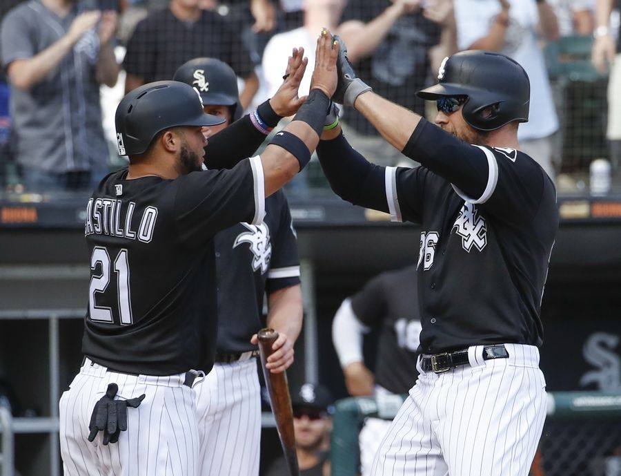 The Chicago White Sox hit around former teammate Jose Quintana Friday as they routed the Chicago Cubs 10-4 at Guaranteed Rate Field.