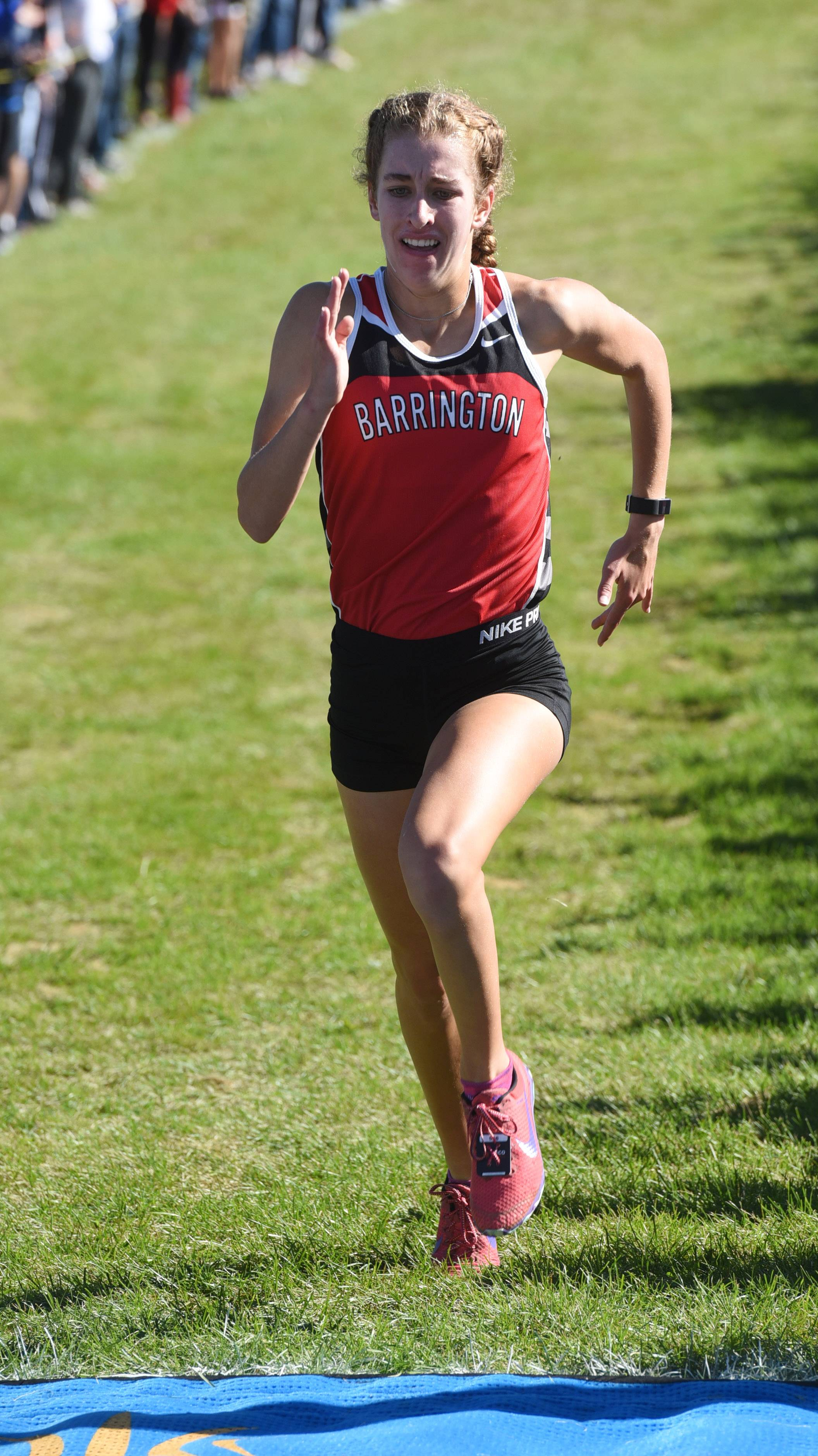Girls cross country: Barrington's Fitzpatrick champ at Palatine