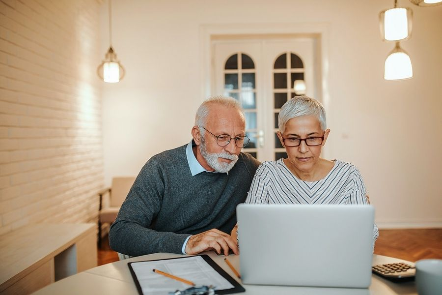 Social Security benefits are based on a person's 35 highest-earning years, so each additional year an older married woman works could replace an earlier year when her income was lower or she took time out of the workforce -- for instance, to raise children.