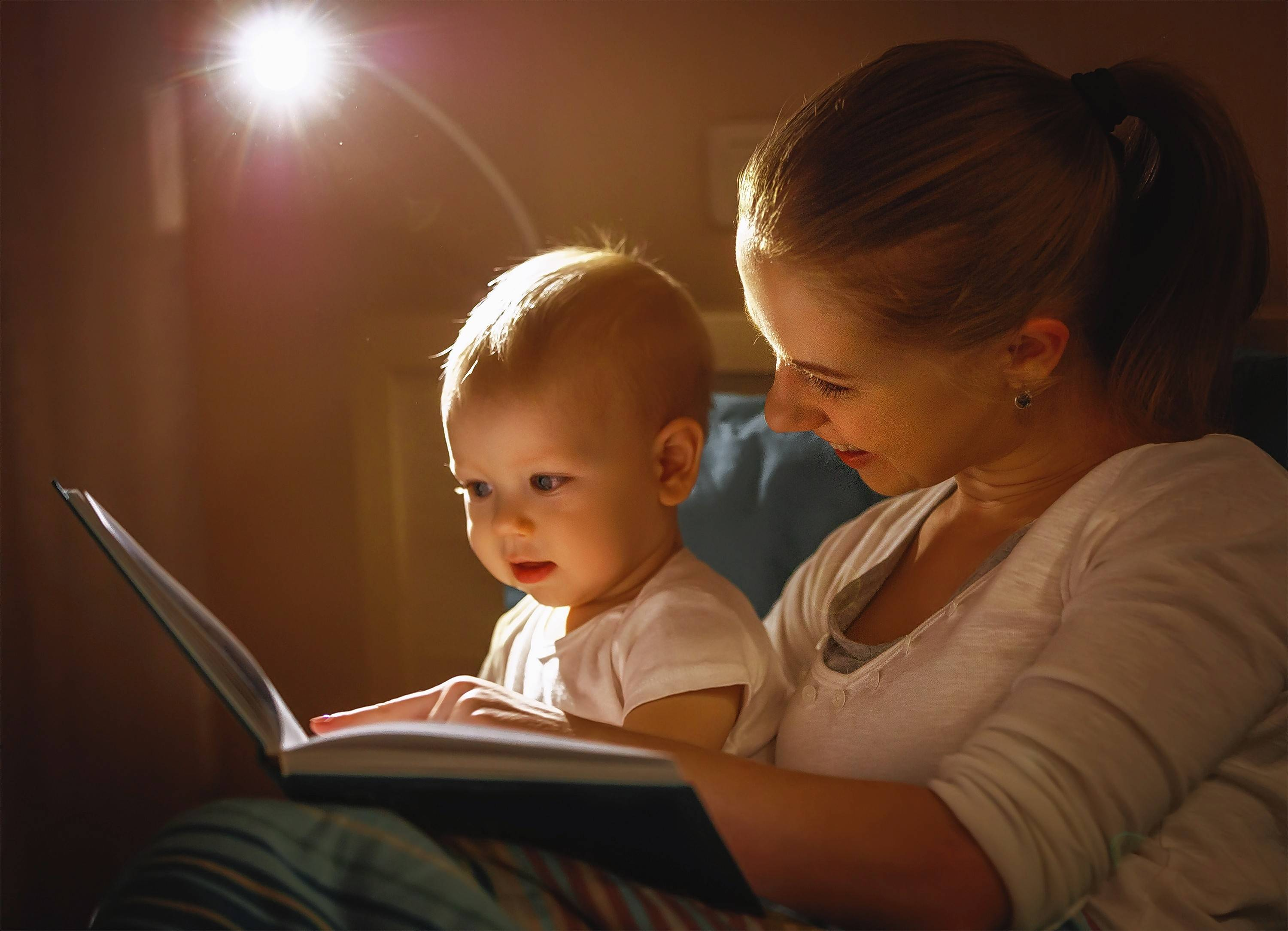 Reading a book — or, for younger children, having a book read to them — is often an important cue for children to start to fall asleep. Just make sure that the books read are not scary or disturbing.