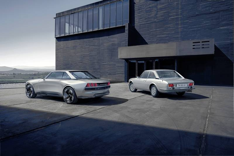 Peugeot E Legend Is Inspired By The Past Looks To The Future