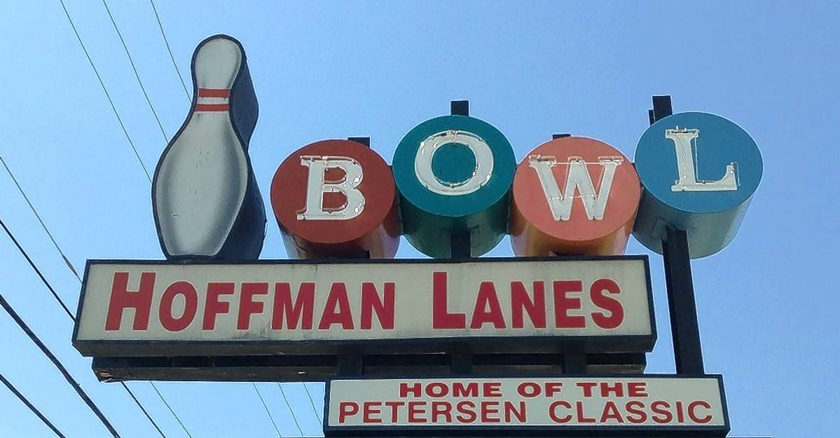 Hoffman Lanes closed in July 2015, but the approximately 50-year-old bowling alley's iconic sign continued to greet motorists on Higgins Road in Hoffman Estates.