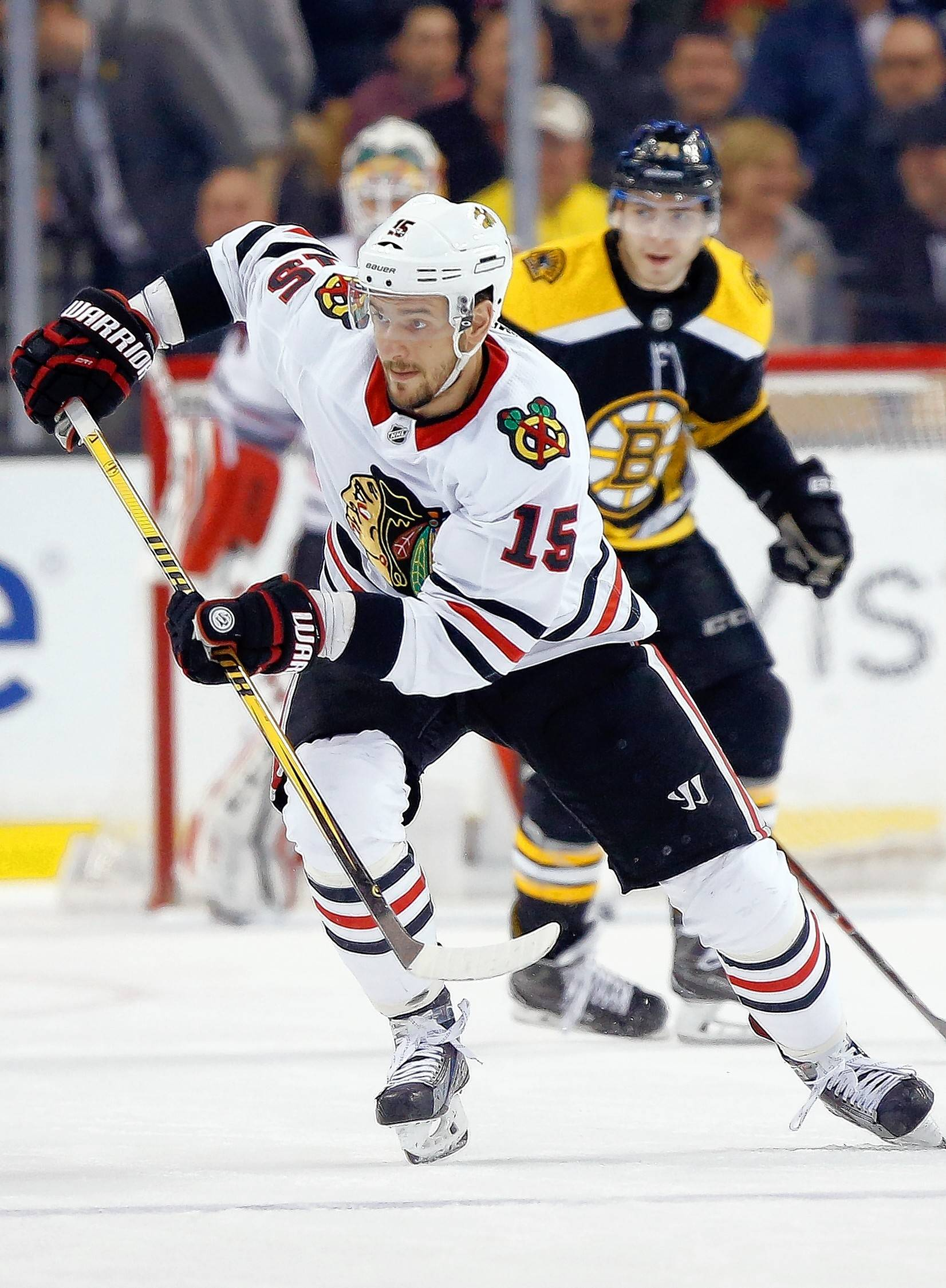 Blackhawks' Artem Anisimov started Week 2 of training camp centering Nick Schmaltz and Patrick Kane.